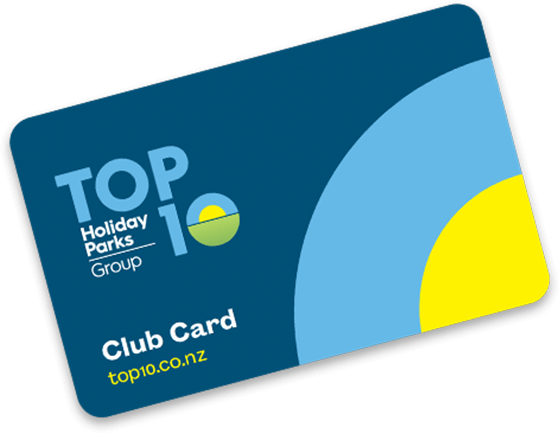 TOP 10 Club Card