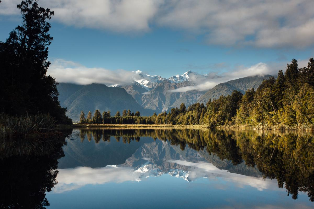Stunning Lake Matheson Walk Fox Glacier Top 10 Holiday Park